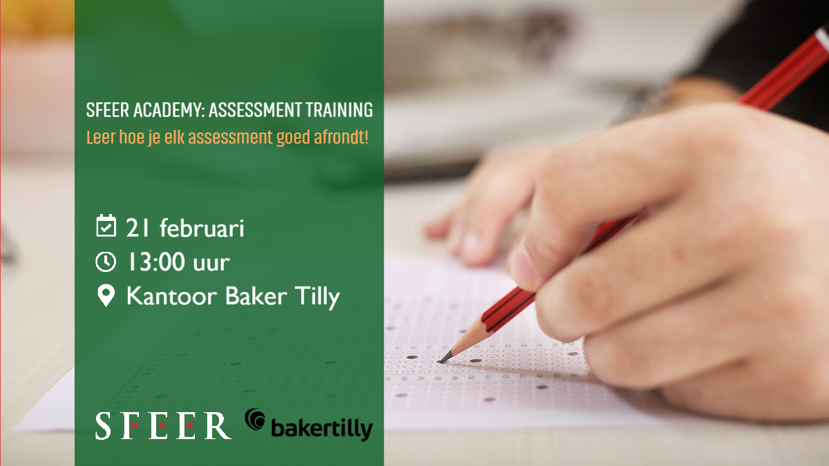 SFEER Academy: Assessment trainig
