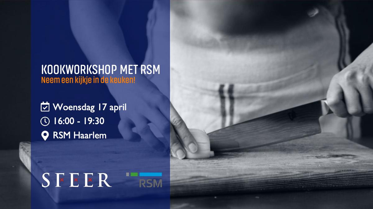 Kookworkshop met RSM