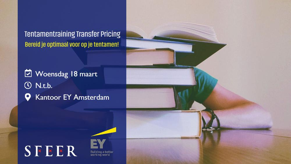 Tentamentraining Transfer Pricing bij EY