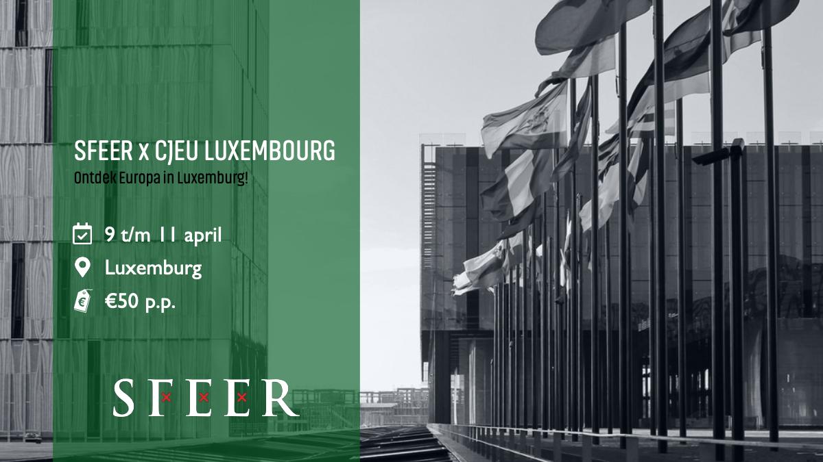 SFEER x CJEU LUXEMBOURG