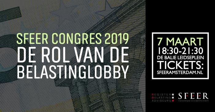 SFEER Congres 2019 - De Rol van de Belastinglobby