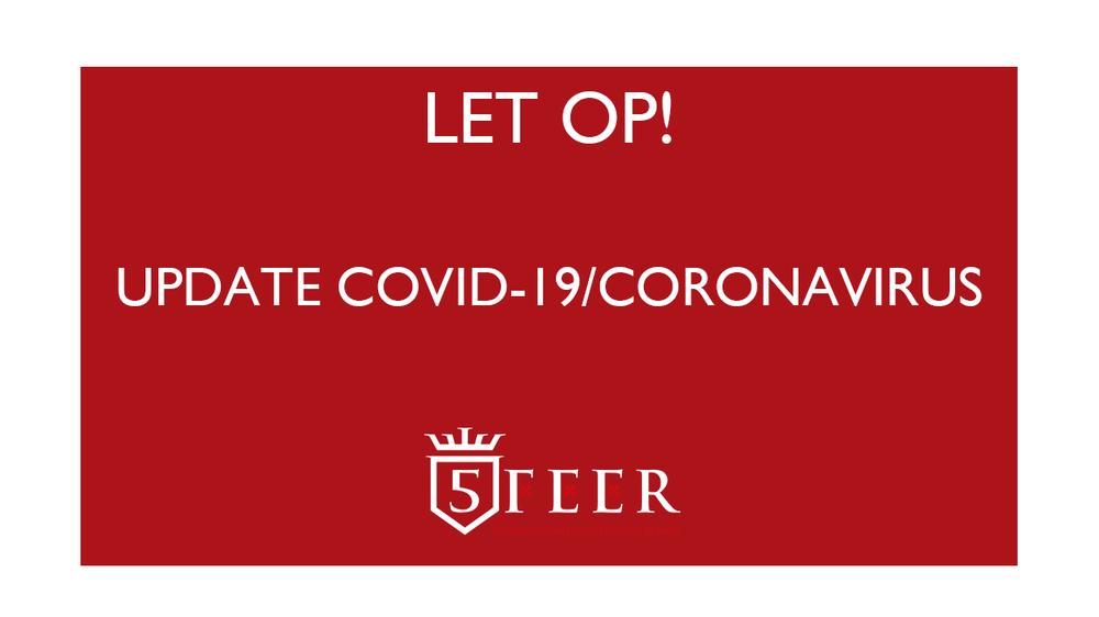 Update COVID-19/coronavirus