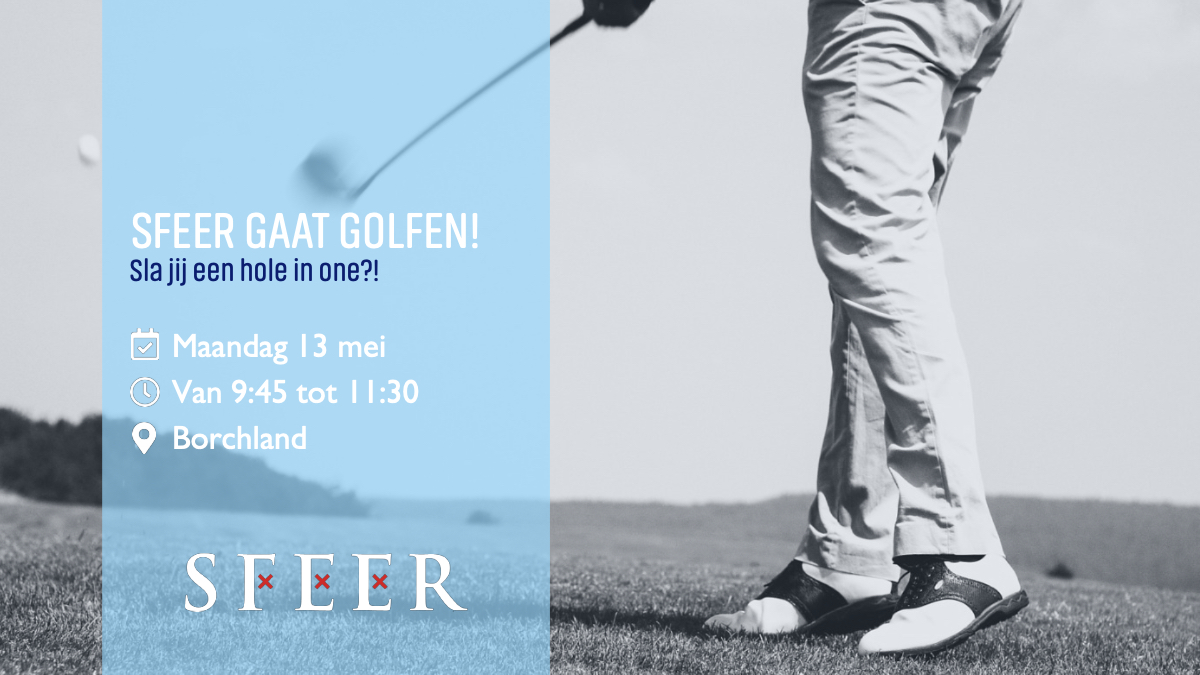 SFEER gaat golfen!