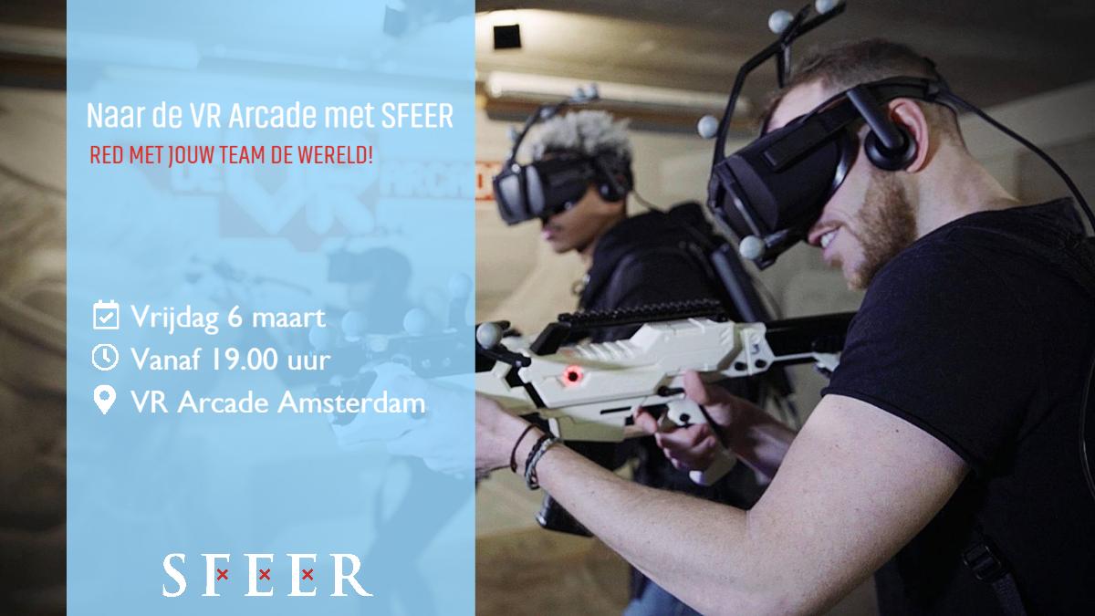 Naar de VR Arcade met SFEER