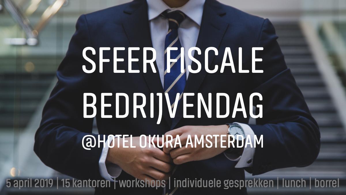SFEER Fiscale Bedrijvendag